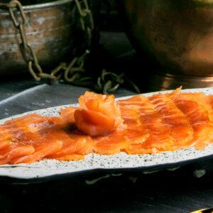 Salmon ahunmado en nuestro ahumadero